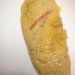 レンジで簡単☆ふんわりチーズオムレツ