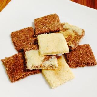 レンジで簡単!ザクッと歯応えおからチーズクッキー