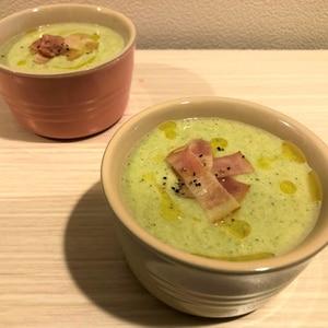 簡単とろとろ★ブロッコリーと豆腐のポタージュ