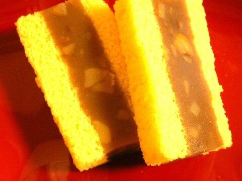 創作和菓子♡ふんわり♡栗入り餡サンド