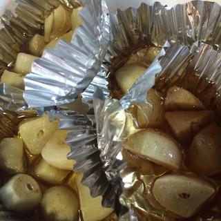 BBQで☆ニンニクのホイル焼き
