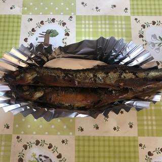 シシャモの甘露煮