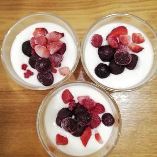 berryberryヨーグルト