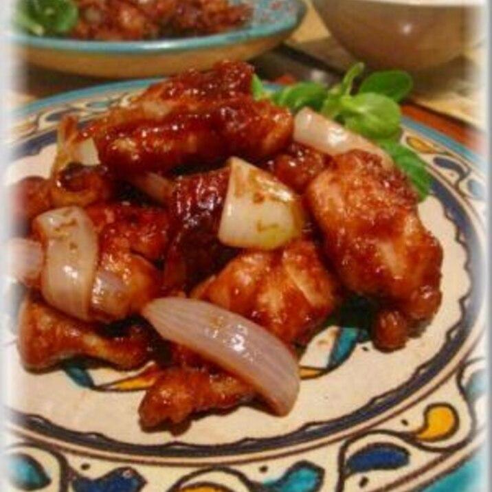 バルサミコ酢&ケチャップ★ 酢鶏 ★