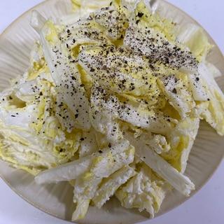白菜のマスカルポーネチーズ和え