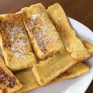 休日の朝に☆フレンチトースト
