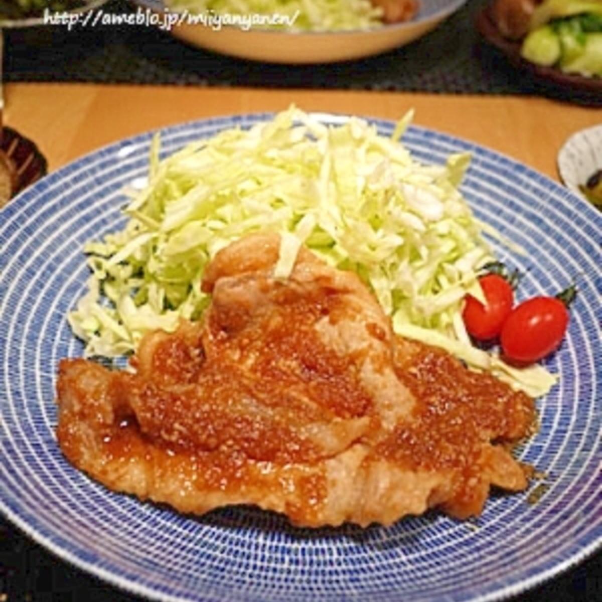 生姜 焼き の タレ の 作り方 簡単