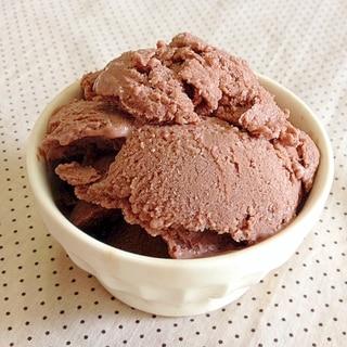 豆腐de☆チョコバナナアイスクリーム