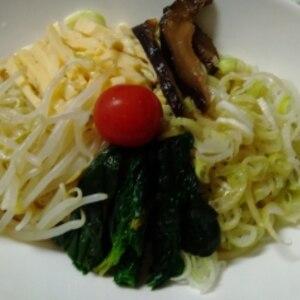 そうめんの韓国冷麺【タレは混ぜるだけの簡単料理】