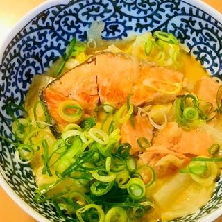 鮭大根●鮭切り身&大根のちゃんちゃん焼き風