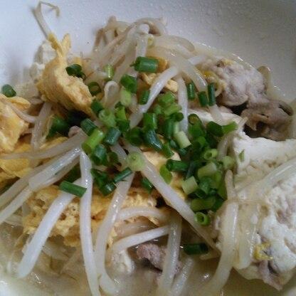 久しぶりに作りました(^.^)  モヤシは安くて沢山食べられて嬉しいです(^_^)v安定の美味しさありがとうございました