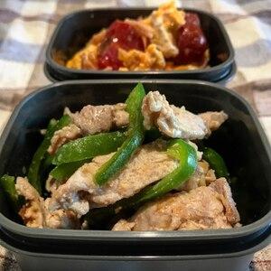 フライパンで簡単!生姜焼き風豚肉とピーマンの炒め物