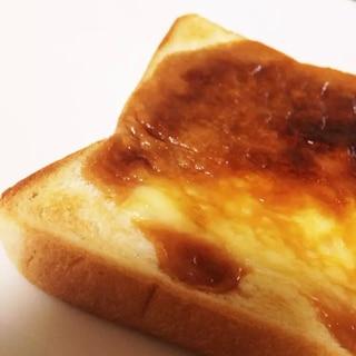 簡単コク旨★チーズキャラメルトースト