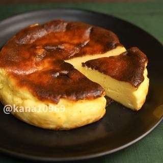 濃厚!バスク風チーズケーキ