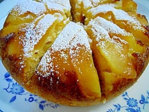 【炊飯器】HMで簡単☆りんごケーキ
