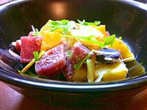 カラフルポテトサラダ