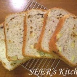 さつまいも&メープル粒ジャム★食パン