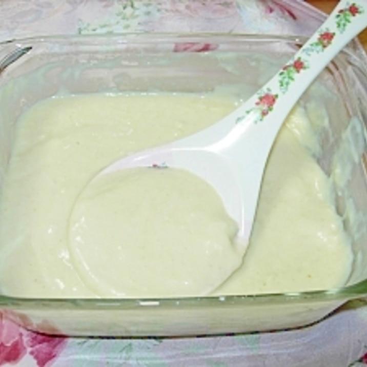 粉ミルク活用☆レンジでホワイトソース