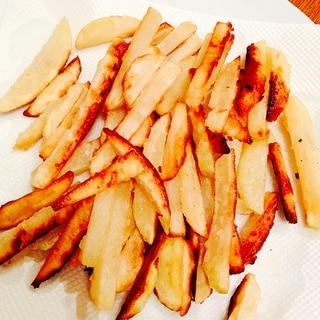 幼児食にも☆揚げ焼きのフライドポテト