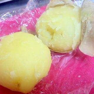 レンジで☆ほくほく蒸かし芋の作り方