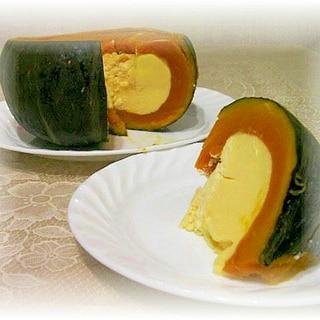 まるごとかぼちゃのココナッツプリン