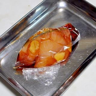 下味冷凍◇寒ブリの照り焼き風甘醤油漬け