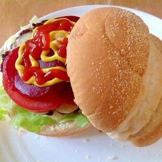 オセアニア風ハンバーガー