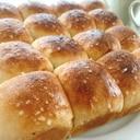 HBで簡単!ちぎりパンde塩パン
