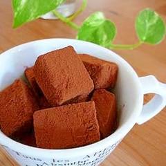チョコ 人気 レシピ 生