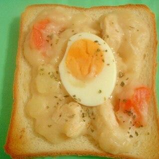 シチュー・卵トースト