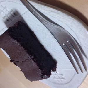 生地づくり10分!低カロリーチョコケーキ♪