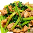 豚肉と小松菜のオイスター炒め♡
