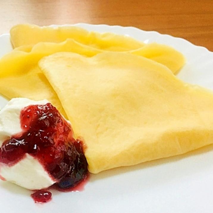 スウェーデン風パンケーキ