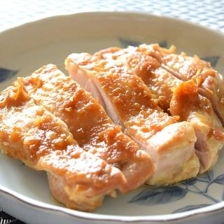鶏の減塩照り焼き