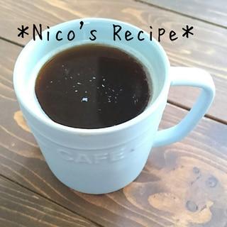 レンジでコク増し♪オランジェコラーゲンコーヒー