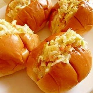 [お手伝いレシピ]あと引く美味しさポテチロールパン