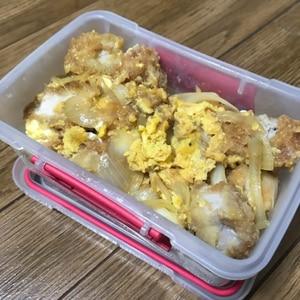 卵は1人1個♪甘めな我が家のカツ丼