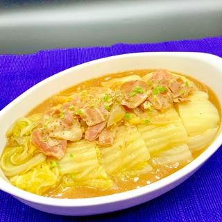 白菜とベーコンの洋風煮込み♡