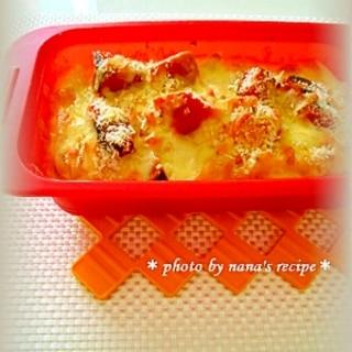 かぼちゃの煮物をリメイク!簡単マカロニグラタン