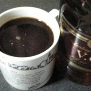 夜更かししたい夜に★ブランデーコーヒー
