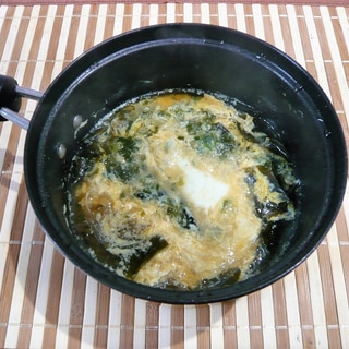 さっぱり煮残り汁で、すっぱ春雨スープ