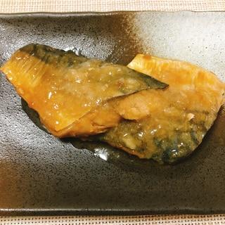 鯖の味噌煮(圧力鍋使用)