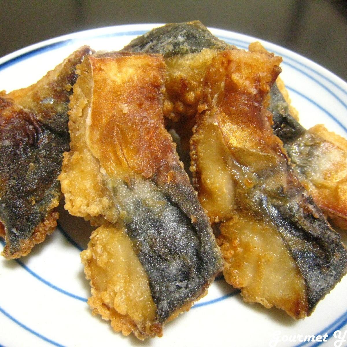 鯖 の 竜田 揚げ の 作り方