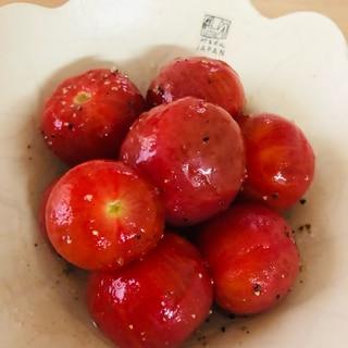 フルーツトマトのはちみつマリネ