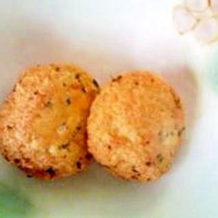 チーズ入り豆腐ボール