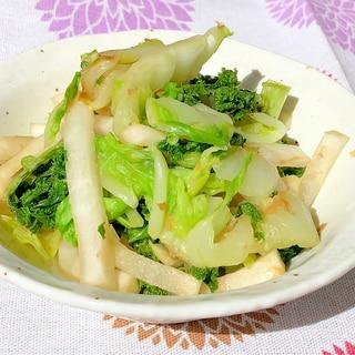 ある野菜で簡単お浸し