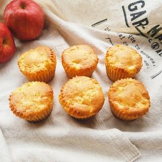 ホットケーキミックスで簡単☆りんごマフィン