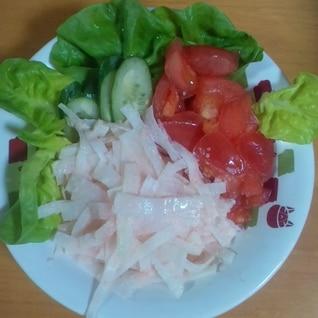 大根の明太マヨのサラダ
