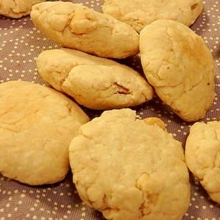 簡単★卵不使用★甘さ控えめ★ピーナツバタークッキー