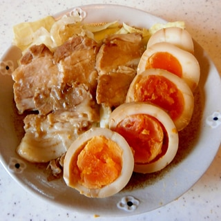袋で漬ける★煮豚&煮卵